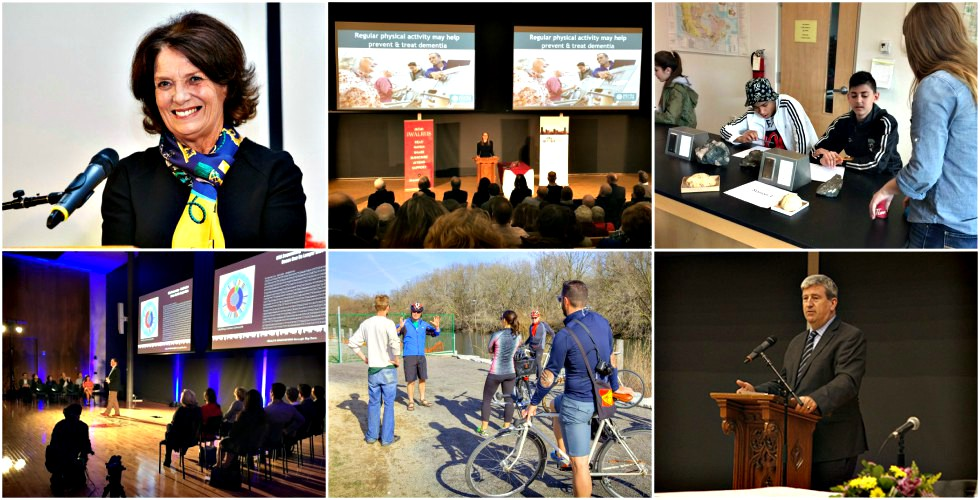 A collage of images from Big Ideas Better Cities events
