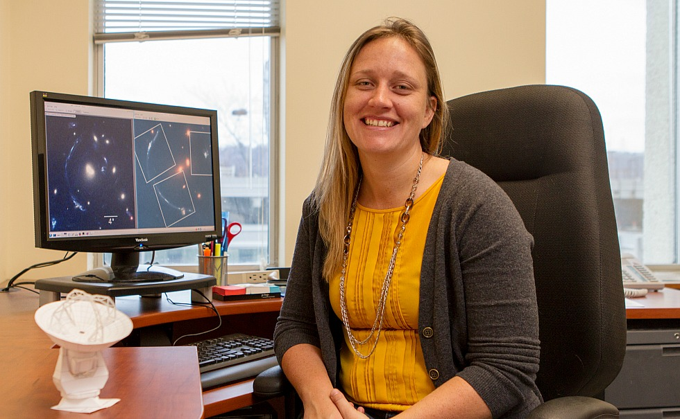 Chelsea Sharon, the inaugural William and Caroline Herschel Postdoctoral Fellow, will spend the next two years at McMaster pursing her research on galaxy evolution