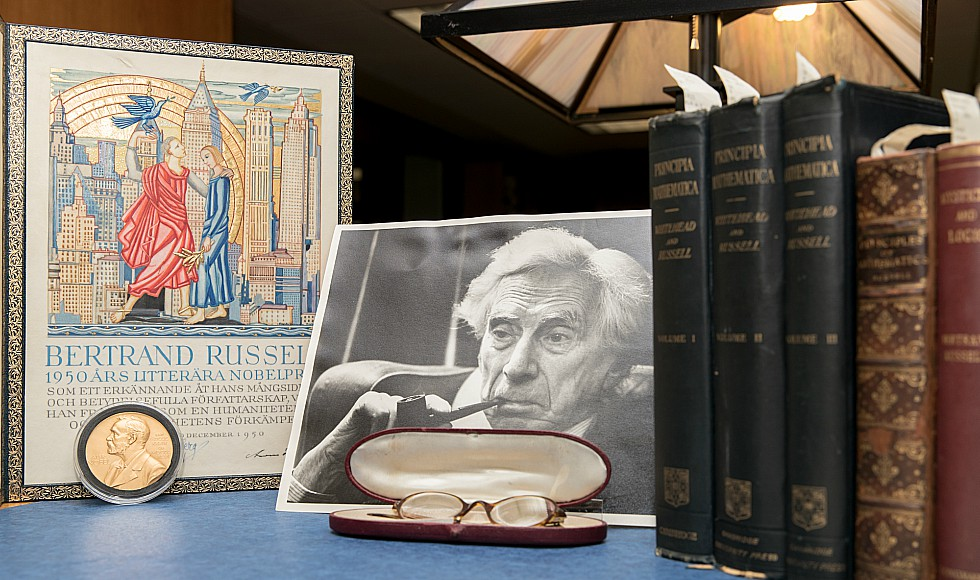 This year, McMaster University Library is celebrating the 50th anniversary of the acquisition of the archives of renowned peace activist, philosopher and Nobel laureate Bertrand Russell, widely considered one of the great intellectuals of the 20th Century.