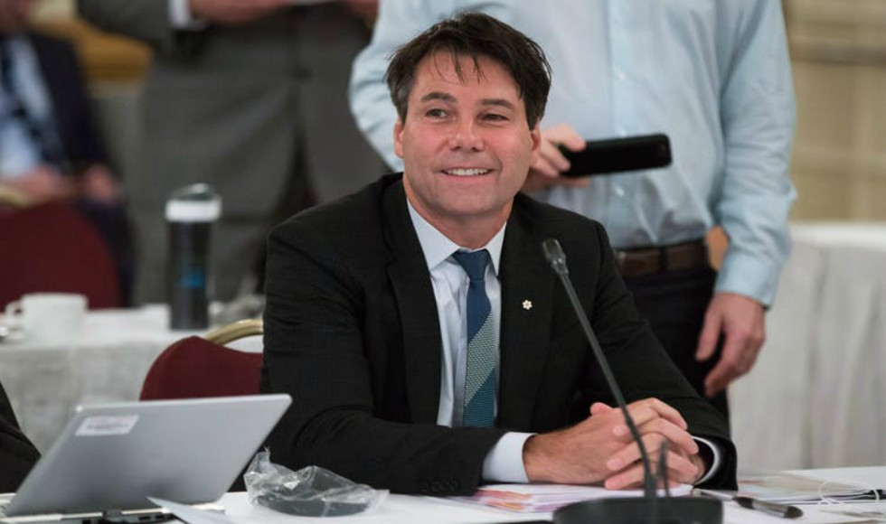 Ontario Health Minister Eric Hoskins photo by Canadian Press/Darryl Dyck