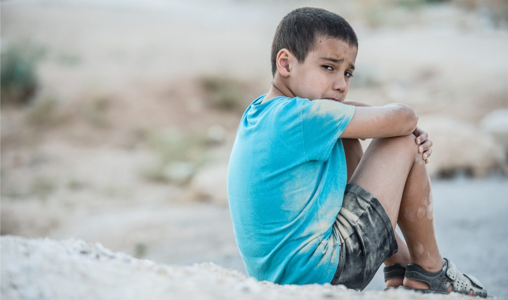 Splitting up families as a deterrent to future border-crossers objectifies children, treating them like they are possessions rather than people with rights, says McMaster political science professor J. Marshall Beier. Photo from Shutterstock