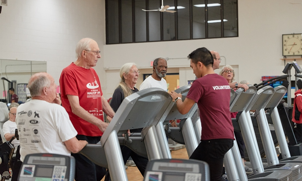 Seniors from the Hamilton community recently took part in Senior Fit Test Day at McMaster's Physical Activity Centre of Excellence (PACE) – part of an exercise and wellness program designed to support older adults and promote successful aging.