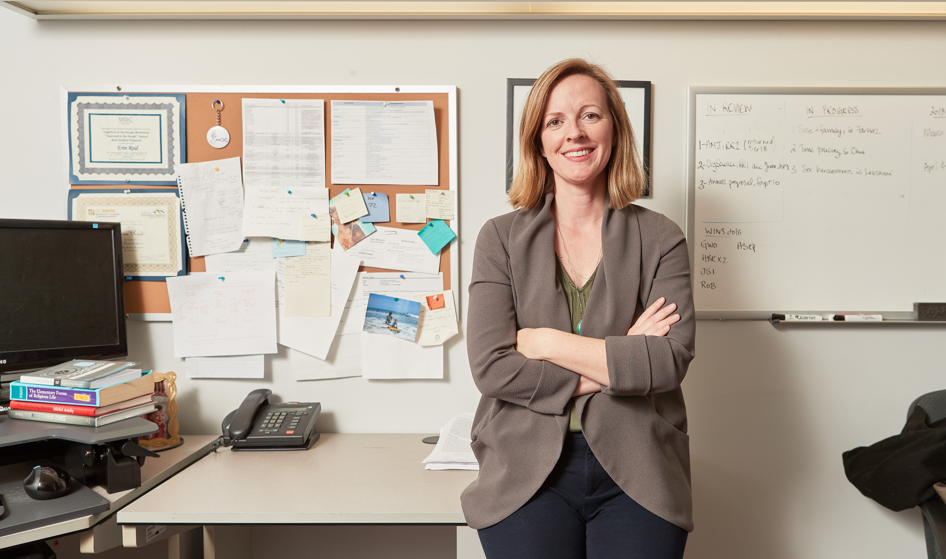 Erin Reid, associate professor of human resources and management at the DeGroote School of Business. Photo by Kevin Patrick Robbins