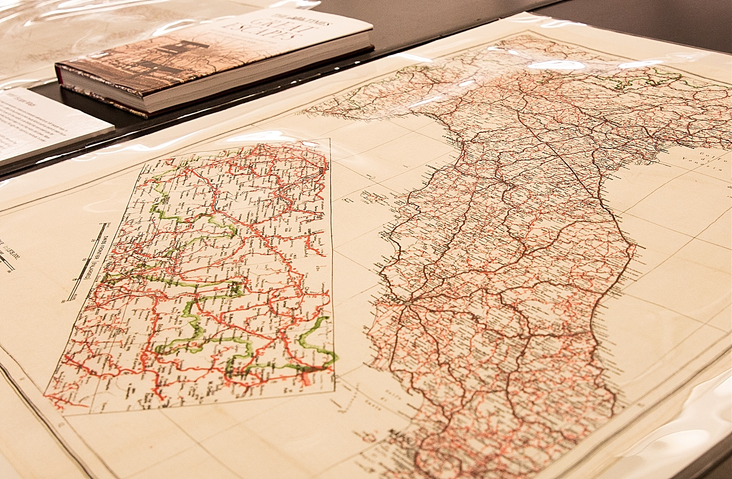Rayon Escape Maps used in WWII