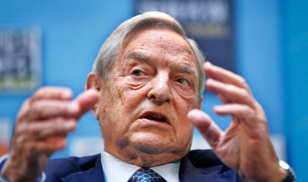 Headshot of George Soros