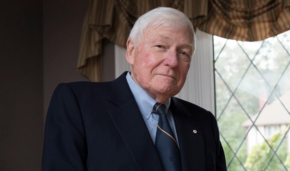 "Chancellor Emeritus L.R. ""Red"" Wilson"